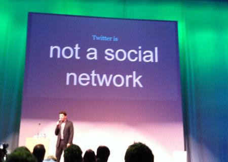 Twitter – не социальная сеть, утверждают ее создатели