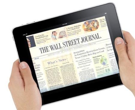 Apple работает над iTunes для газет