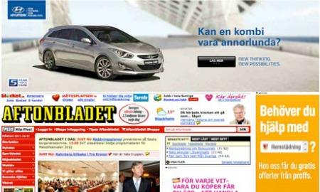 Избыток рекламы губит дизайн сайтов новостей