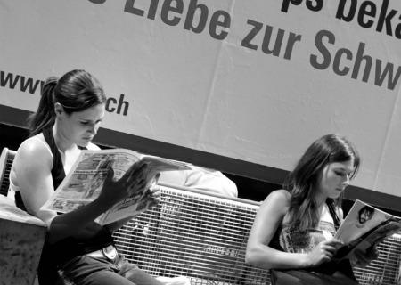 Исследование: Тинейджеры в Германии читают газеты