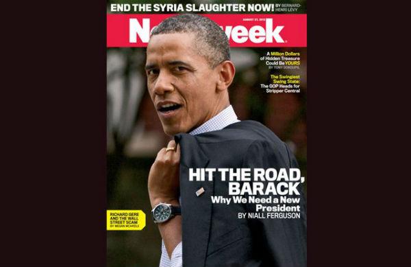 Последний Newsweek напечатают в декабре 2012 года