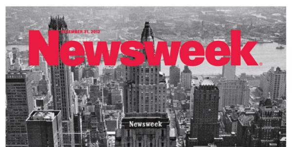 Последний номер еженедельника Newsweek поступил в продажу