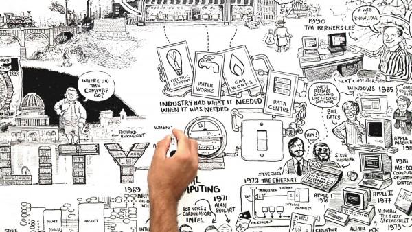 Стивен Фрай объясняет: облачные вычисления (видео)
