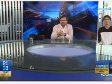 Прямий – перший гібридний телеканал